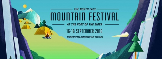 The North Face Mountain Festival 2016 at Lauterbrunnen in Switzerland