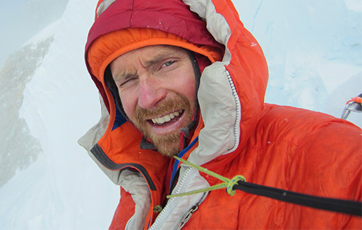 Colin Haley makes first solo ascent of the Infinite Spur on Sultana - Mt. Foraker in Alaska