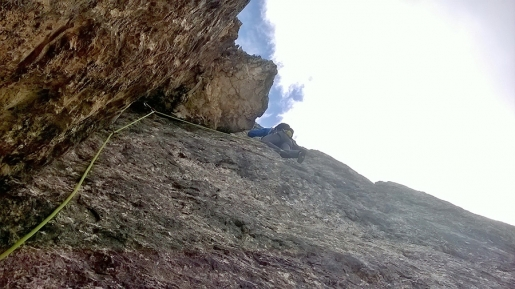 Classic climbs n. 1: Pisciadù NW Arête. By Ivo Ferrari