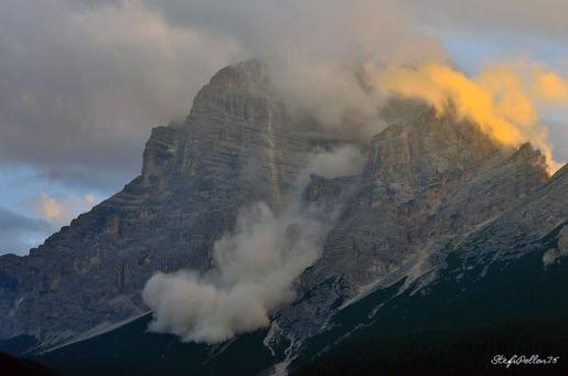 Monte Pelmo rockfall, the video