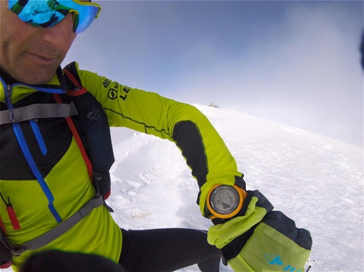 Mont Blanc, Ueli Steck raids the Innominata Ridge