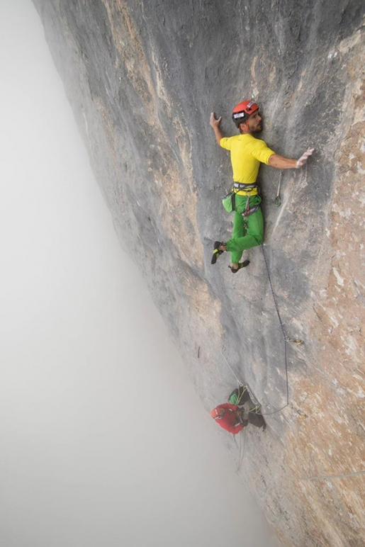 Edu Marin repeats Wogü in Switzerland's Rätikon massif