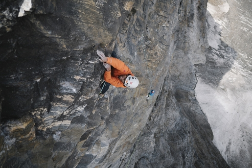Ötztal, new rock climb up Kristallwand by Hansjörg Auer and Alexander Blümel