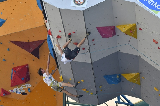 Adam Ondra and Janja Garnbret win 30th Rock Master Trophy