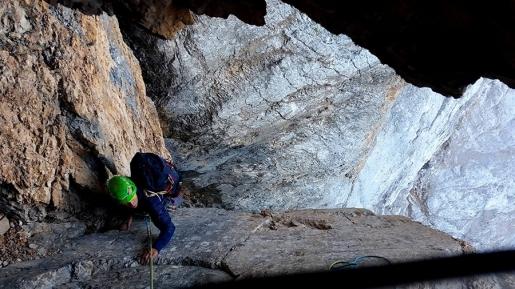 Civetta / New Dolomites climb by Tom Ballard and Marcin Tomaszewski
