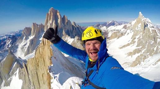 Patagonia, invernale solitaria di Markus Pucher sul Cerro Pollone