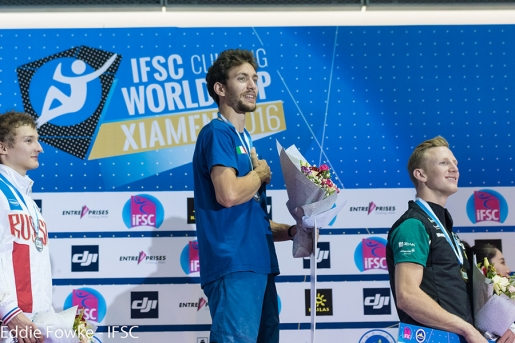 Stefano Ghisolfi and Janja Garnbret win Lead World Cup in Xiamen