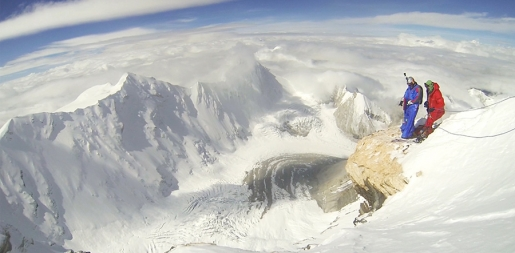 Valery Rozov BASE jumps from 7700m off Cho Oyu
