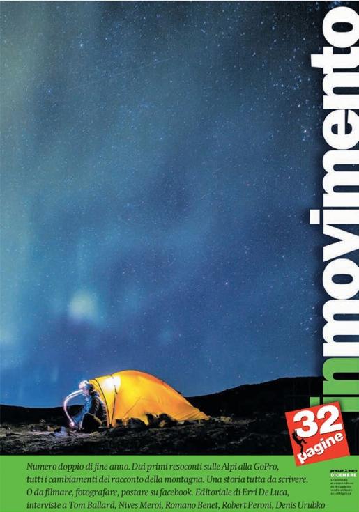 Il Manifesto - In movimento, tutti i cambiamenti del racconto della montagna