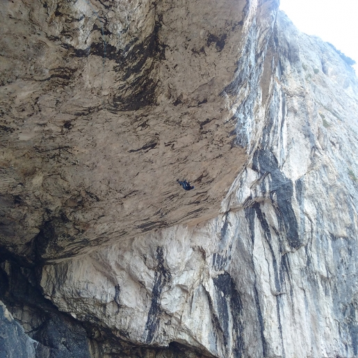 Dolomites drytooling: Dariusz Sokołowski traces A Line Above The Sky