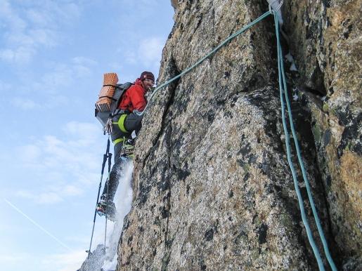 Kaunergrat Winter Traverse, Matthias & Hansjörg Auer mountaineering in the Ötztal Alps