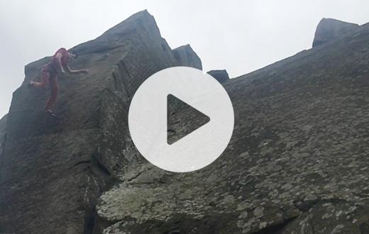 Michele Caminati e il video della caduta shock