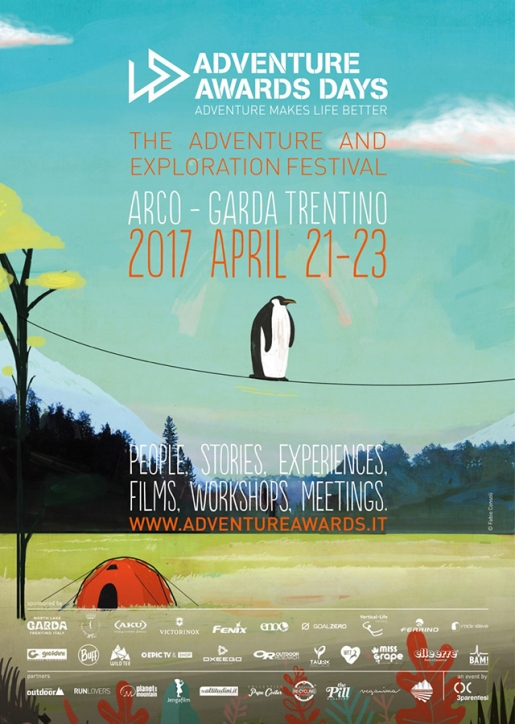 Arco Rock Star and Adventure Awards Days, the Italian adventure and exploration festival