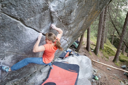 Anna Stöhr: a Dream Day Climbing at Magic Wood