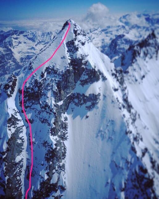 Becca di Monciair - Little Matterhorn of Gran Paradiso