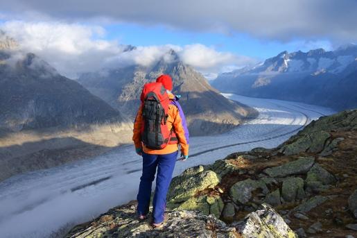 Aletsch: the immense glacier in Switzerland