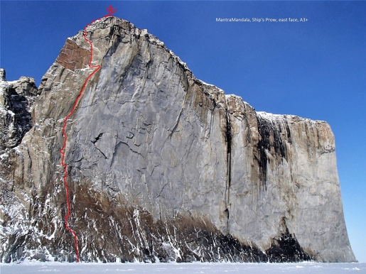 Marek Raganowicz apre due nuove big wall a Baffin Island