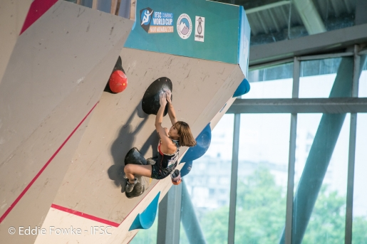 Bouldering World Cup 2017: India live