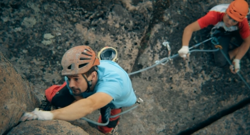 Stolby trad climbing festival in Siberia