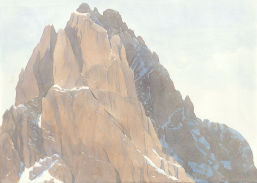 Riccarda de Eccher: Montagna. The Dolomites at the Halsey Institute of Contemporary Art, USA