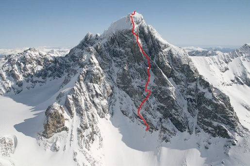Canada's Monarch Mountain SW Pillar first ascent by Simon Richardson and Michael Rinn
