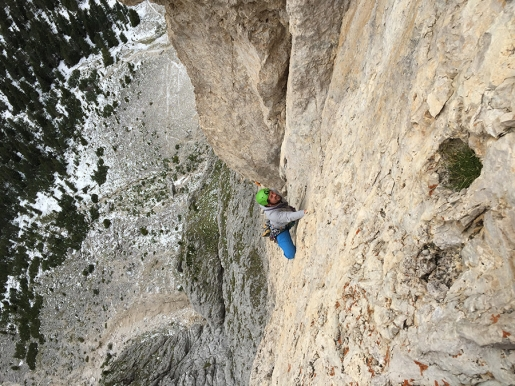 Corso aspiranti guide alpine: formazione roccia in Dolomiti