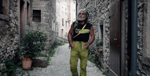 Mauro Corona e il video per andare oltre la tragedia del Vajont