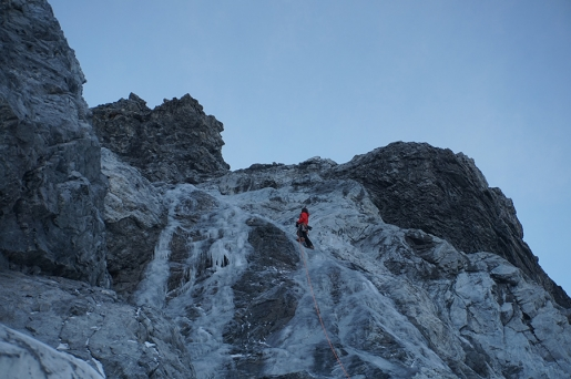 Königsspitze ice climb by Daniel Ladurner and Johannes Lemayer