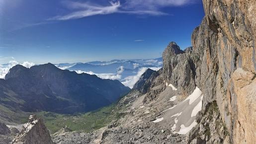 Atommyco in Val d'Ambiez: nuova via di Andrea Simonini nelle Dolomiti di Brenta