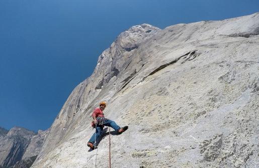 Una normale salita di Free Rider su El Capitan. Di Maurizio Oviglia