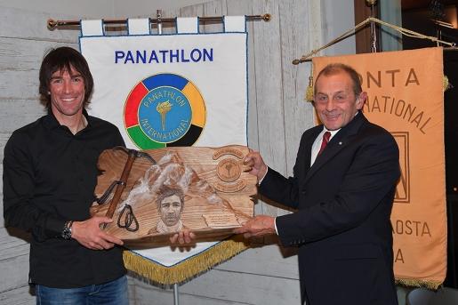 A Hervé Barmasse il Premio Panathlon 2017