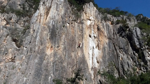 Piazza Pulita in Sardinia, a new crag dedicated to Oskar Piazza