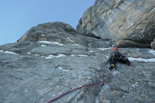Civetta Solleder - Lettenbauer, the French winter ascent video