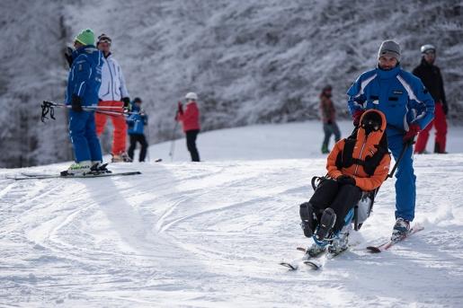 La Fondazione Silvia Rinaldi per i disabili e lo sci
