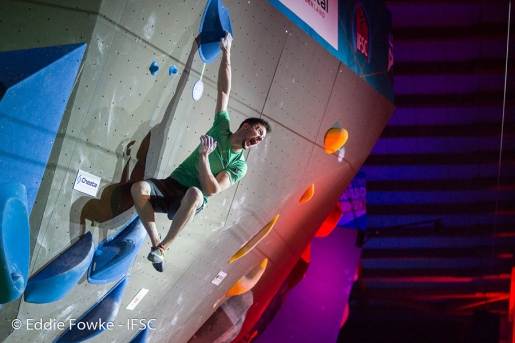 Jernej Kruder & Miho Nonaka win first stage of the Bouldering World Cup