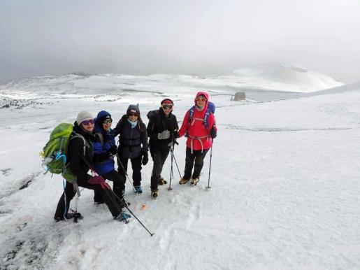 L'Etna con il DAM - Gruppo Diabete e Alta Montagna