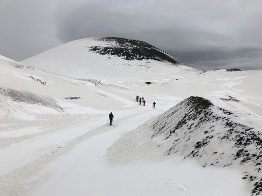 Etna - 2018: con il Diabete, gli sci e le ciaspe alle Porte degli Inferi