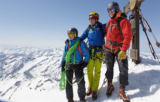 Thomas Bubendorfer climbs new route up Großglockner after Dolomites accident