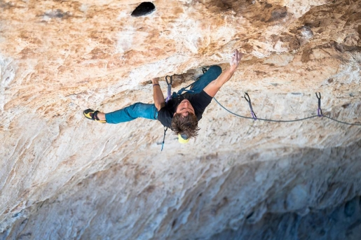 Alex Honnold and Jonathan Siegrist climb out of their Comfort Zone