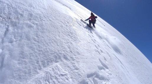 Legendary Aiguille Verte Nant Blanc face skied by Paul Bonhomme and Vivian Bruchez