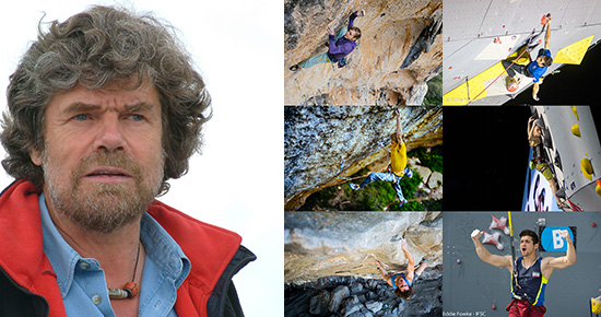 Reinhold Messner at Arco Rock Legends / All the climbing Oscar nominations