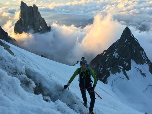 Innominata Ridge Speed: Denis Trento and Robert Antonioli race up Mont Blanc