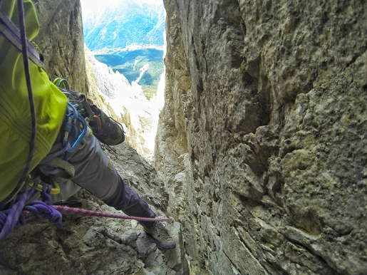 Antelao, Dolomites: Enrico Paganin makes solo first ascent of Via Mamabi