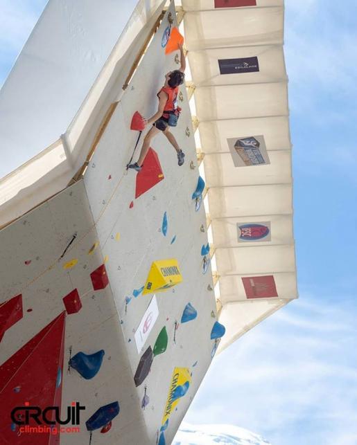 Chamonix, l'arrampicata della Coppa del Mondo Lead in diretta