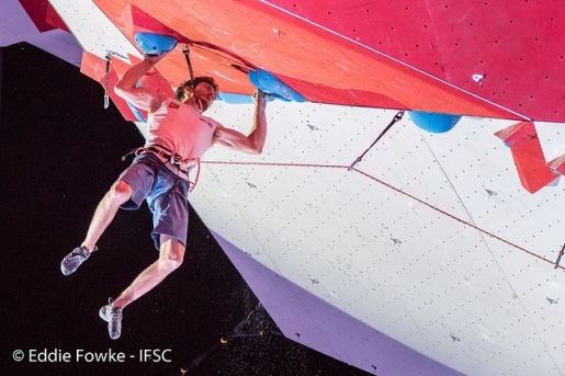 Stefano Ghisolfi and Jessica Pilz climb to perfection in Chamonix