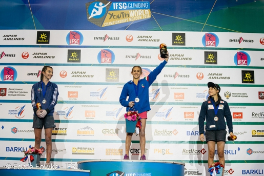 World Youth Climbing Championships: gold for Laura Rogora, Sam Avezou, Ekaterina Barashchuk and Gian Luca Zodda