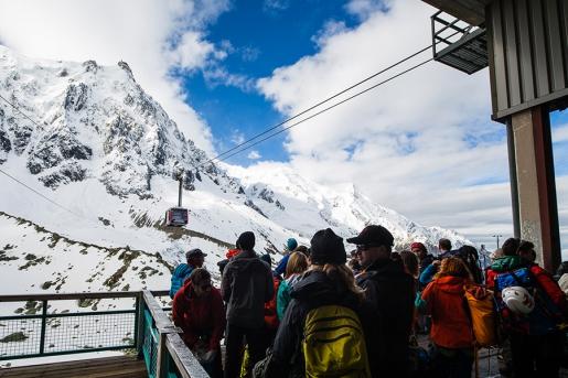 Aiguille du Midi cable car closed for maintenance once again