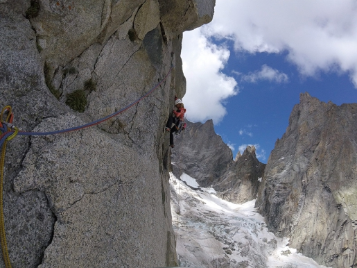Federica Mingolla / Video of Aiguille Croux climb in Mont Blanc massif
