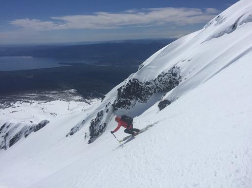 Il calore delle Araucarie. Paolo Tassi, lo sci e gli incontri sui vulcani Cileni