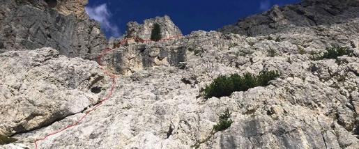 Sass de Stria, Dolomiti: nuova via ferrata sopra Cortina